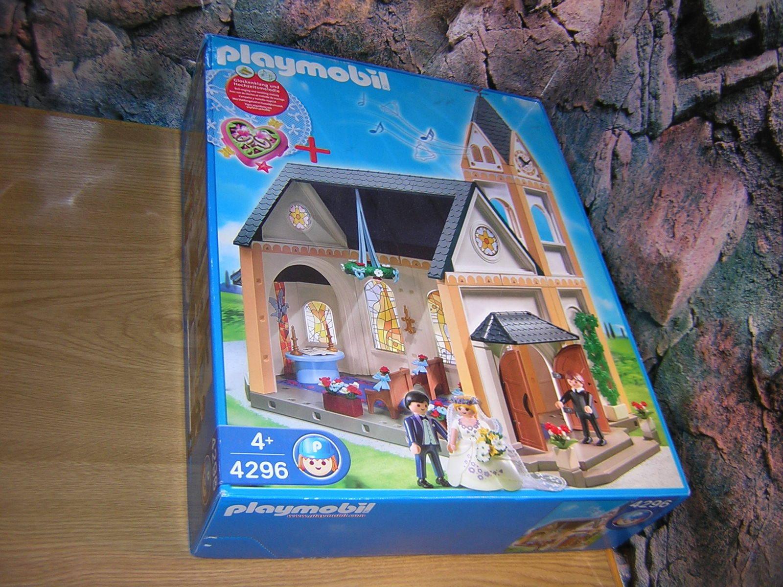(SRH) 4296 Kirche Hochzeit Kapelle Puppenhaus NEU   OVP