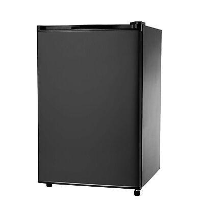 IGLOO 4.6 Cu Ft Mini Fridge / Compact Refrigerator, Black- FR464 - Refurbished