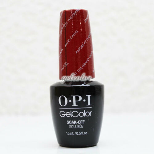 OPI GelColor Soak Off LEDUV Gel Nail Polish Amore at the Grand Canal #GCV29
