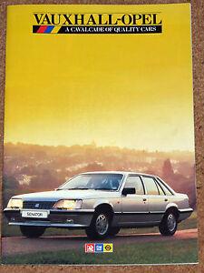 1985-VAUXHALL-OPEL-Sales-Brochure-inc-Astra-amp-Manta-GTE-Nova-Cavalier-SRi-Monza