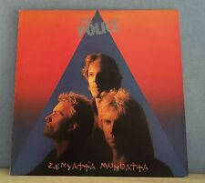 THE POLICE Zenyatta Mondatta 1980 UK vinyl  LP + INNER EXCELLENT CONDITION    J