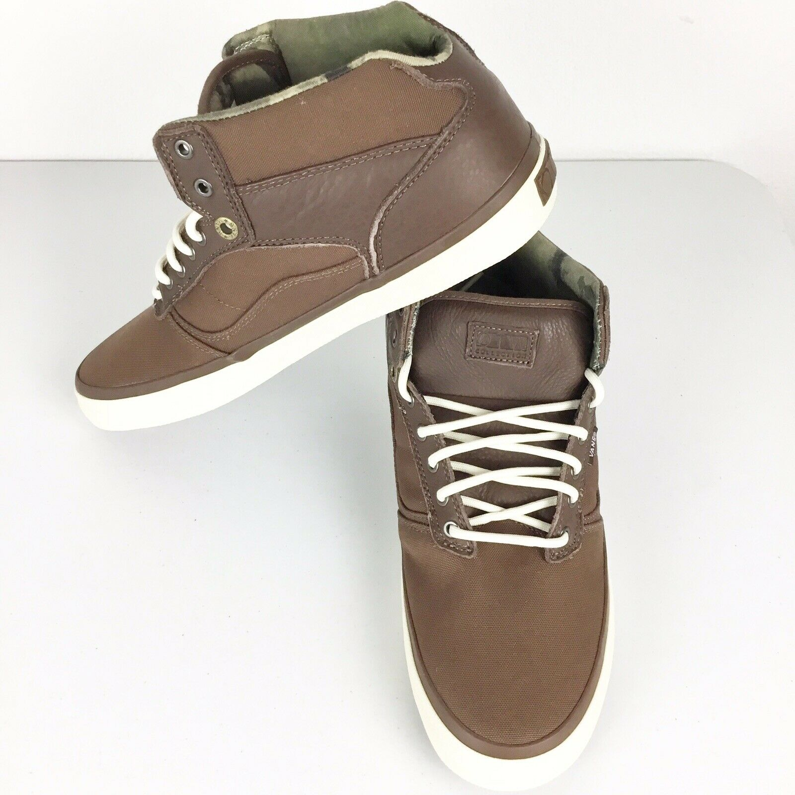 a8ea417d44bce Vans OTW High Top Brown And And And Camo Mens shoes Size 11.5 ...