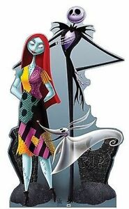image is loading nightmare before christmas jack sally lifesize standup cardboard - The Nightmare Before Christmas Jack And Sally