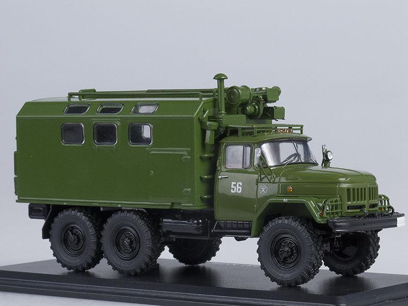 Modelo de escala camión 1 43 ZIL-131 Kung Kung Kung M.T.O. - ATM (Caqui) d6c5fa