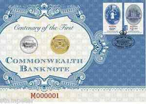 2013-Australia-Centenary-of-the-First-Commonwealth-Banknote-PNC-1-and-20c-UNC