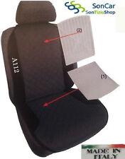 AUTOBIANCHI A112 Schienale, Coprisedile Auto Ricamato disponibile in più colori!