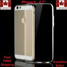 """iPhone 6 Case 4.7""""High Quality Crystal Clear Soft Gel Case 4 colours to choose"""