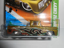 Hot Wheels 2011 Super Treasure Hunt Custom '62 Chevy Pickup w/Protecto Pack