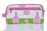Toss Designs Bella Pineapple Head Shot Cosmetic Make Up Waterproof Bag