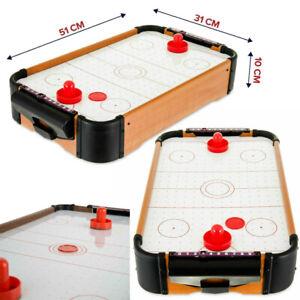 Childrens-Kids-Top-Air-Hockey-Game-Mini-Table-Pushers-Pucks-Arcade-Toy-Play-Set