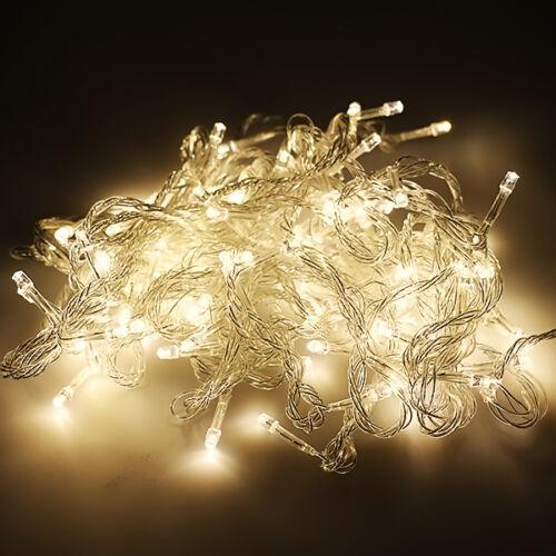20-400 LED Christmas Home Garden Party Wedding Xmas String Fairy Lights Decor
