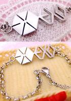 Korean Kpop Band Exo Exo-m Exo-k Mama Xoxo Kris Sehun Titanium Steel Bracelet