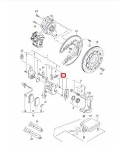 Avant et arrière brke Disques Et Plaquettes Pour AUDI OEM de Qualité 2137123421641020