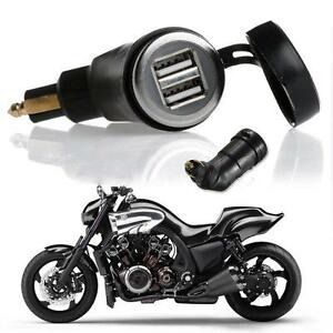 New 3 3a Motorcycle Din Dual Usb Charger For Bmw Hella