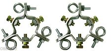 """((2)) EZ 43-A Adjustable 3 Way Down Guy Rings for up to 2-1/4"""" Mast - Heavy Duty"""
