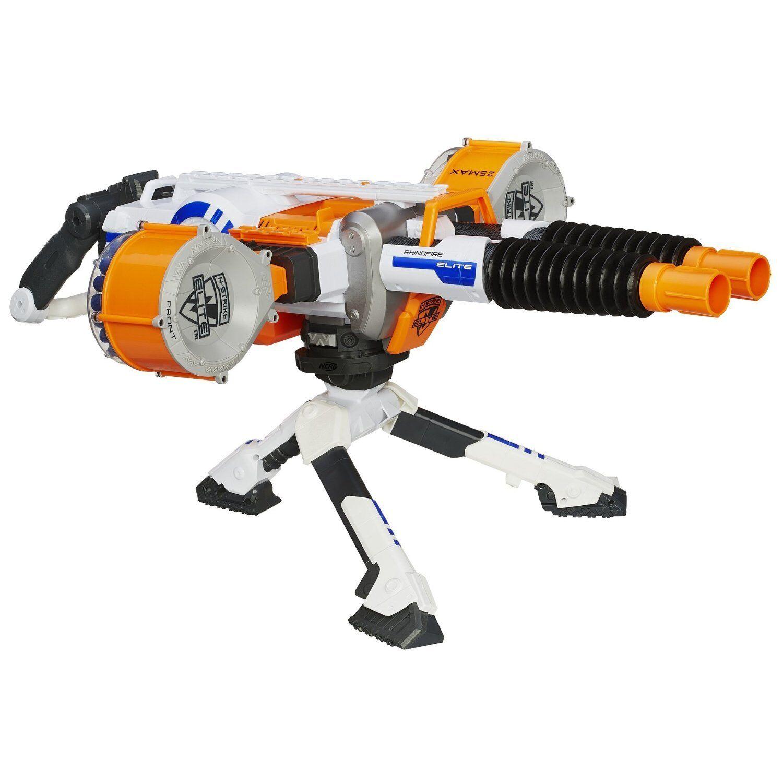 Marca nueva elite Rhino-fuego Nerf Dart Blaster
