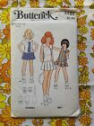 BUTTERICK 3121 sewing pattern CHECKED / COMPLETE 1970s vintage retro girls dress