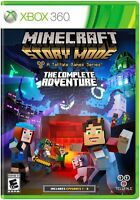 Minecraft: Story Mode -- The Complete Adventure (microsoft Xbox 360, 2016)