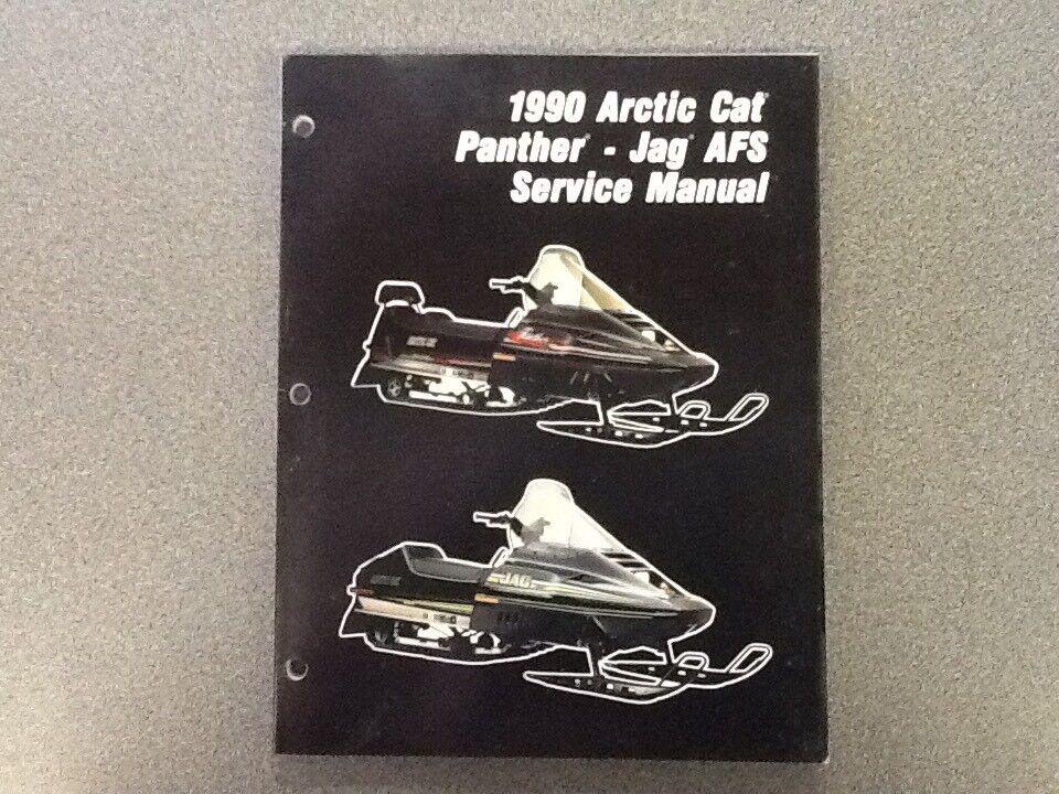 ARCTIC CAT OEM SERVICE MANUAL 1990 PANTHER JAG AFS 2254-574