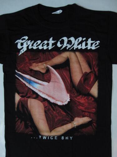Great White ...Twice Shy Tour 89 T-shirt