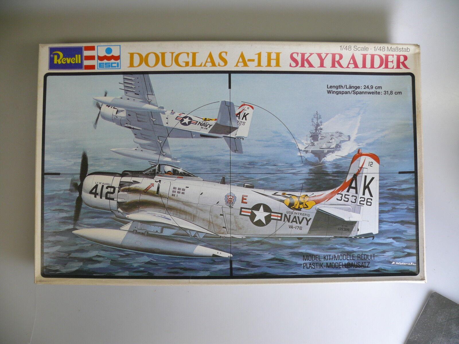 clásico atemporal 1 48 Revell H-2298 Douglas A-1h 'Skyraider' 'Skyraider' 'Skyraider' – Nuevo Embalaje Original  promociones de descuento