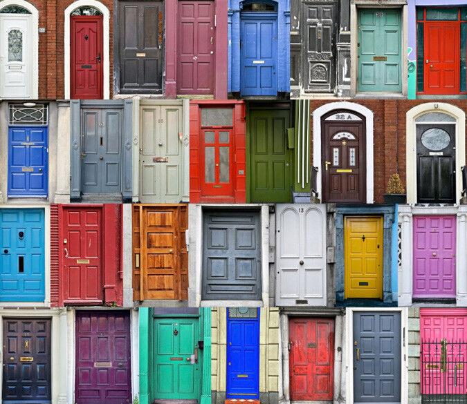 Papel Pintado Mural De Vellón Puerta Puerta Vellón Colorida 12 Paisaje Fondo De Pantalla ES AJ 006f3e
