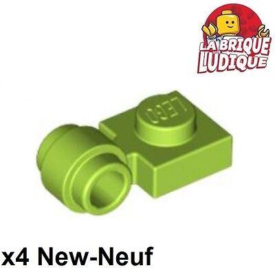 X4 Flach Geändert 1x1 Clip Ring Loch Ring Grün Zitrone/limette 4081b Neu Lego Bausteine & Bauzubehör Sonnig Lego Lego Bau- & Konstruktionsspielzeug