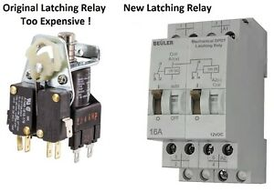 Accele-5086E-Single-Coil-DPDT-12-18-Volt-Electro-Mechanical-Latching-Relay
