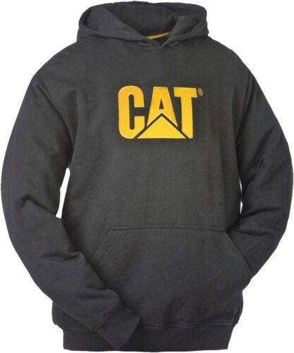 Handytasche großes Logo CAT Caterpillar Kapuzenpullover warm schwarz m