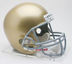 NOTRE-DAME-FIGHTING-IRISH-NCAA-Riddell-FULL-SIZE-Deluxe-Replica-Football-Helmet