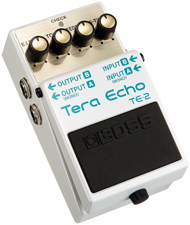 BOSS TE-2 Tera Echo Pedal from Japan New in Box