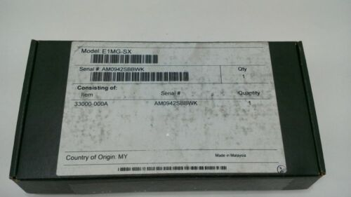 Warranty NEW Foundry Original E1MG-SX 1000Base SX MINI GBIC SFP LC