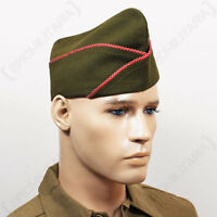 Ww2 Us Issue Type Garrison Cap - Engineers - Repro Military Army American Hat