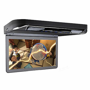 A102m Chameleon Overhead Flip Down Lcd Monitor W Dvd Player Car Entertainment You