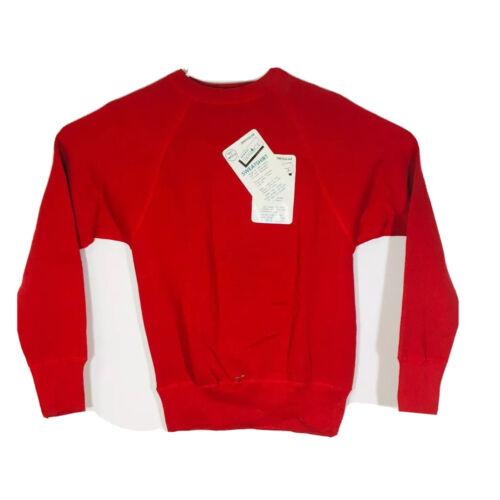 Mayo Spruce Men's S Sweatshirt Raglan Red NOS Dead