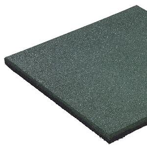 Fallschutzmatte-50x50x2-5cm-GRUN-Spielplatz-Matten-Schaukel-Schutz-Gummimatte