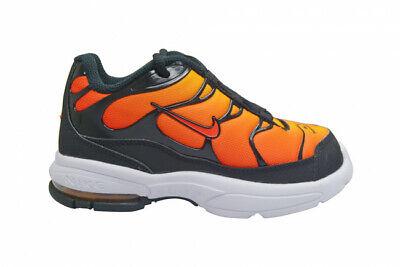 Neonati Bambini Nike Air Max Plus Scarpe da ginnastica TD Nero Arancione BV5975 001 | eBay