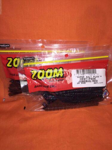 #007-177 Junebug//Red 2 PCKS 20cnt ZOOM Centipede