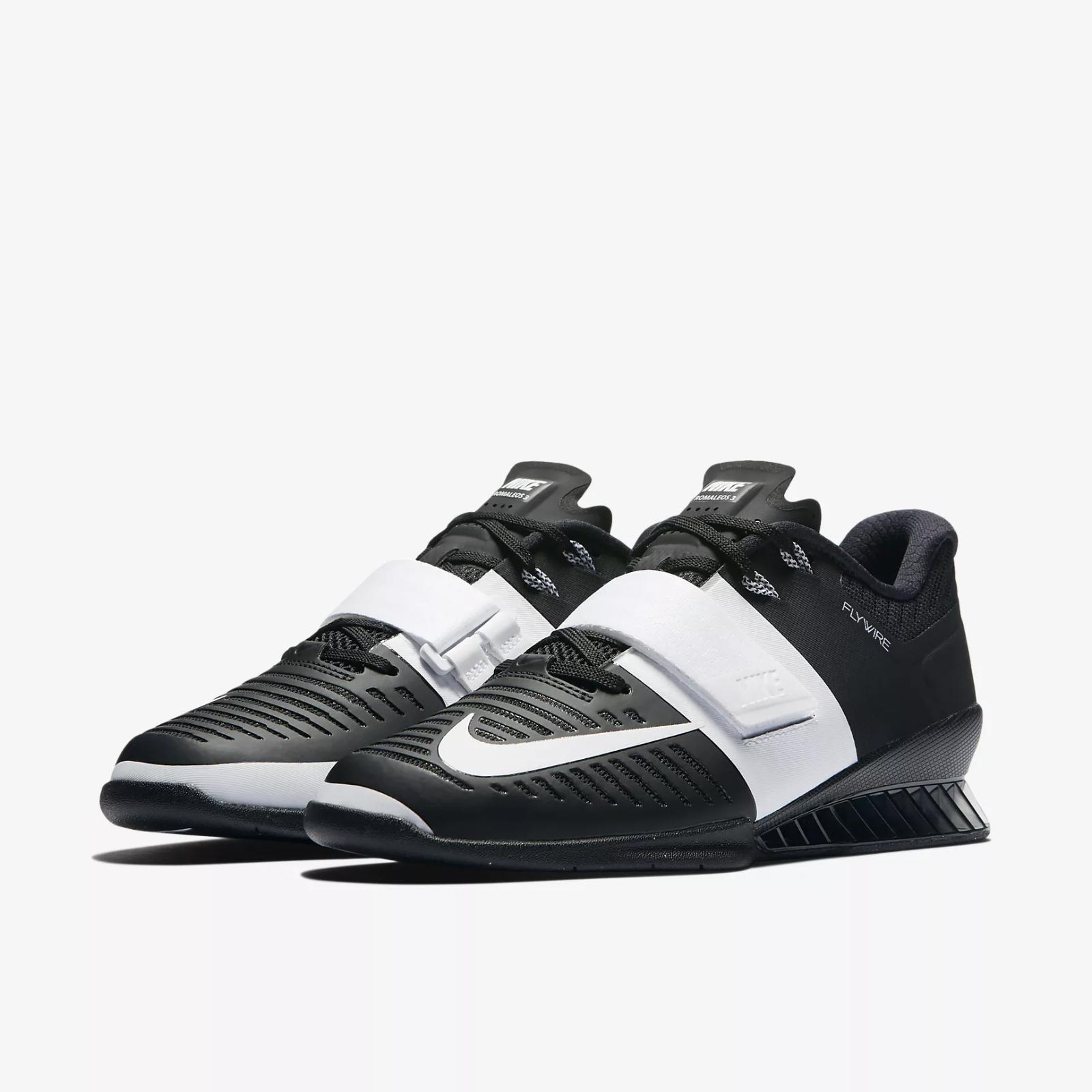 Nike donna Romaleos 3  Sollevamento di peso Scarpe 878557 -001 Dimensione 13  bellissimo