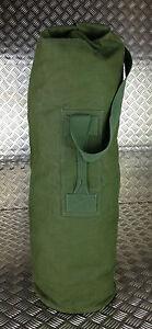 Genuine-British-Army-Green-Canvas-Kitbag-Duffle-Bag-Seasack-Grade-2