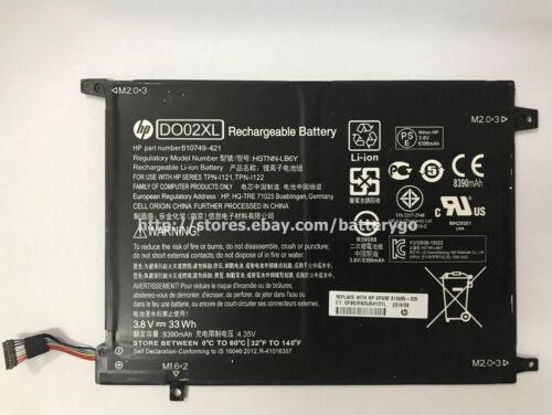 ORIGINALE 33Wh BATTERIA DO02XL per HP Pavilion X2 10 HSTNN-LB6Y TPN-I121 TPN-I122