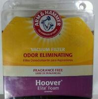 Arm & Hammer Hoover Elite Foam Vacuum Filter--model 69120 Factory Sealed