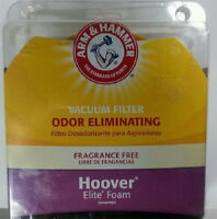 Arm & Hammer Hoover Elite Foam Vacuum Filter--model 69120 Factory Sealed