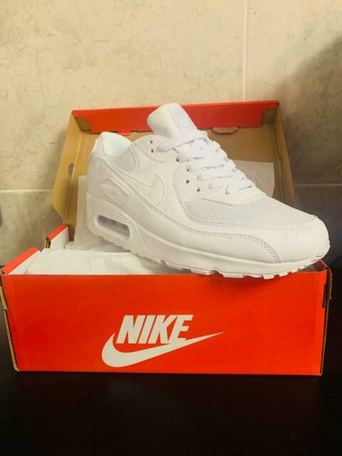 Nike air max 90 triple White UK men sizes 6 -11