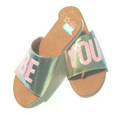 "JoJo Siwa ""Be You"" Mules Slide Sandal"