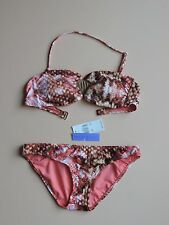 RADIO FIJI Bikini 2 pc Swimsuit Coral  Sz M  NWT New