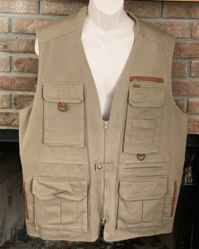 Orvis Size XL Cotton and Leather Orvis Hunting Fis