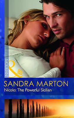 """AS NEW"" Marton, Sandra, Nicolo: The Powerful Sicilian (Modern) Book"