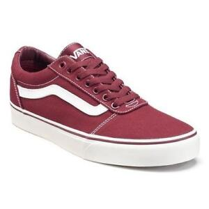 Details about Vans Ward Men's Low Top Canvas Skateboarding Shoes