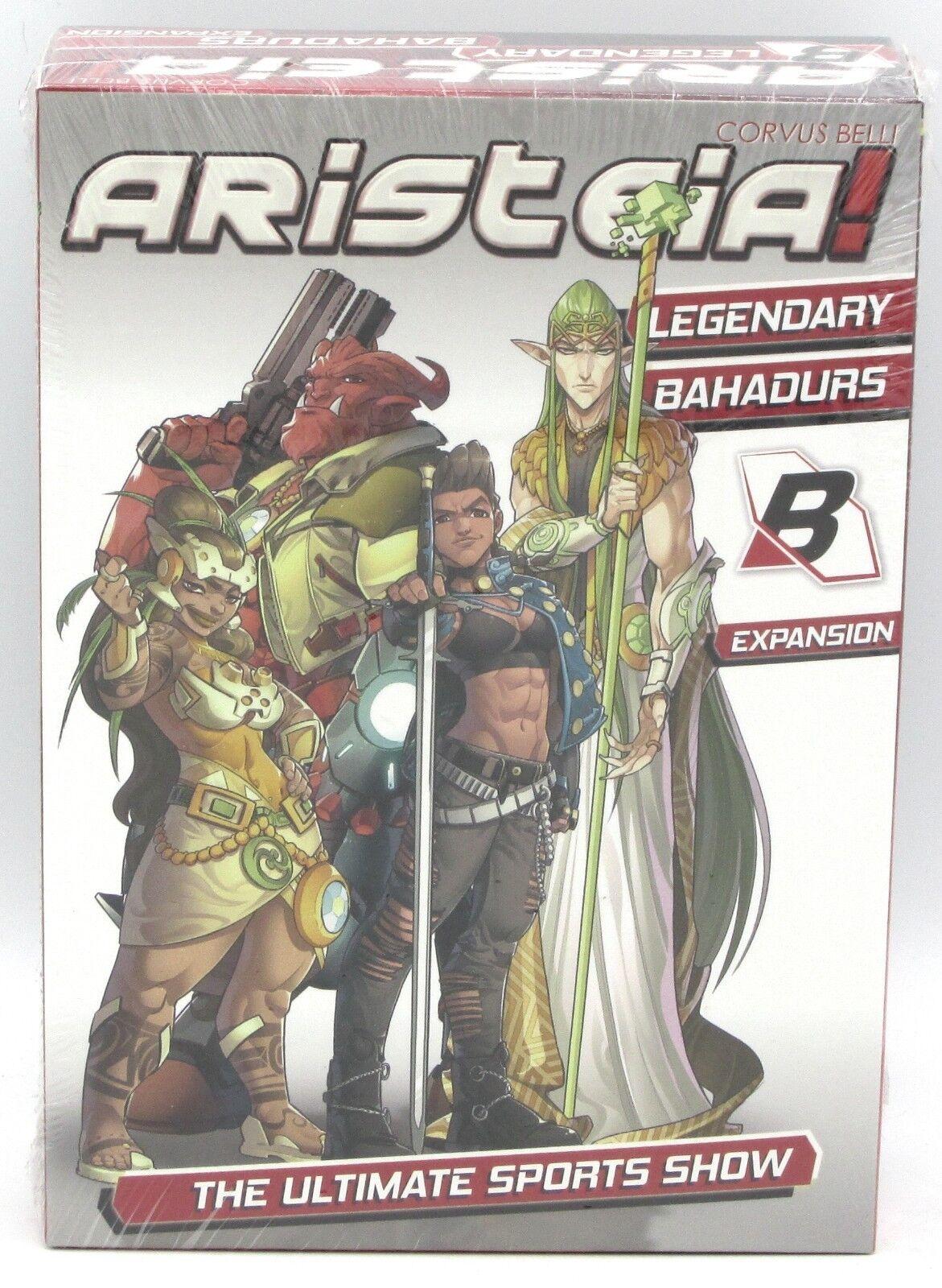 Aristeia  CBARI25 Legendary Bahadurs (Expansion) Champion Players Infinity NIB